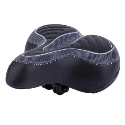 Comfortable Wide Big Bum Bike Bicycle Gel Cruiser Extra Sporty Soft Pad Saddle MAIN