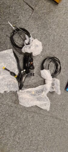 eBike Hydraulic Brakes - 3 pin (Assembled Required) photo review