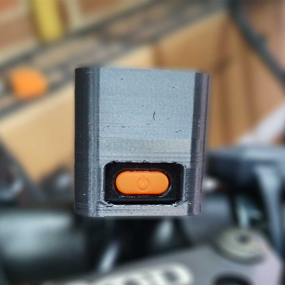 EggRider V2 Bluetooth eBike display Sun Hood Back