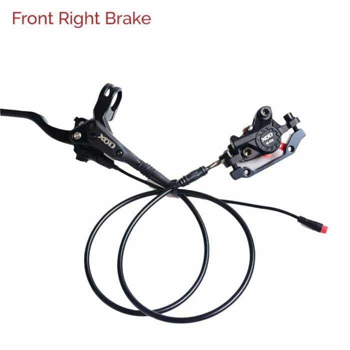 eBike Hydraulic Brake 2 Pin Cut Off Waterproof Connector Assembled Front Right