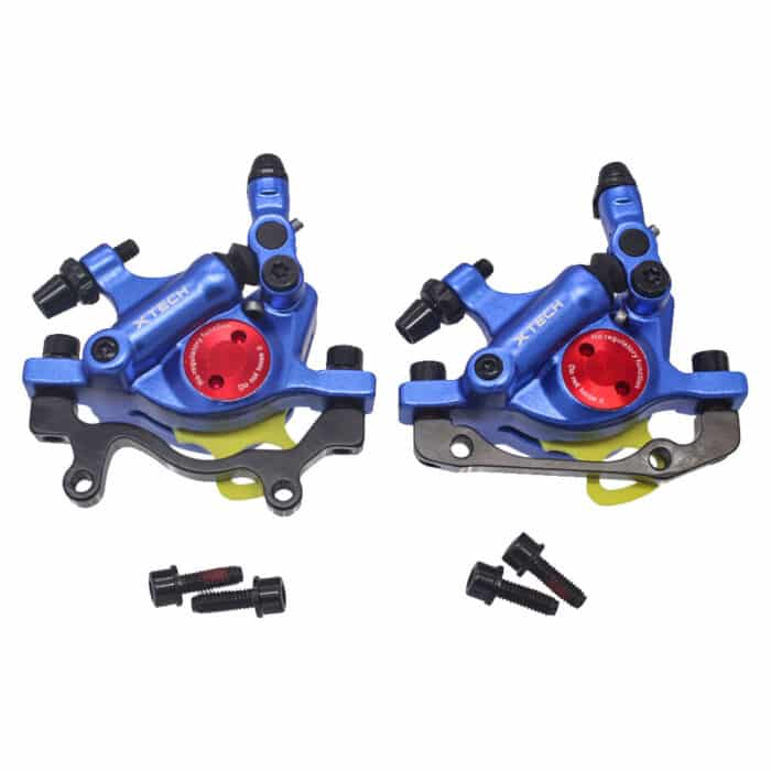 ZOOM XTECH HB100 MTB Line Pulling Hydraulic Disc Brake Calipers BLUE